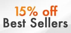 Best Sellers - 15%
