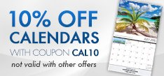 Calendar Products - 10% Off