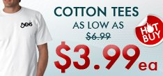 Hot Buy - Cotton Tees