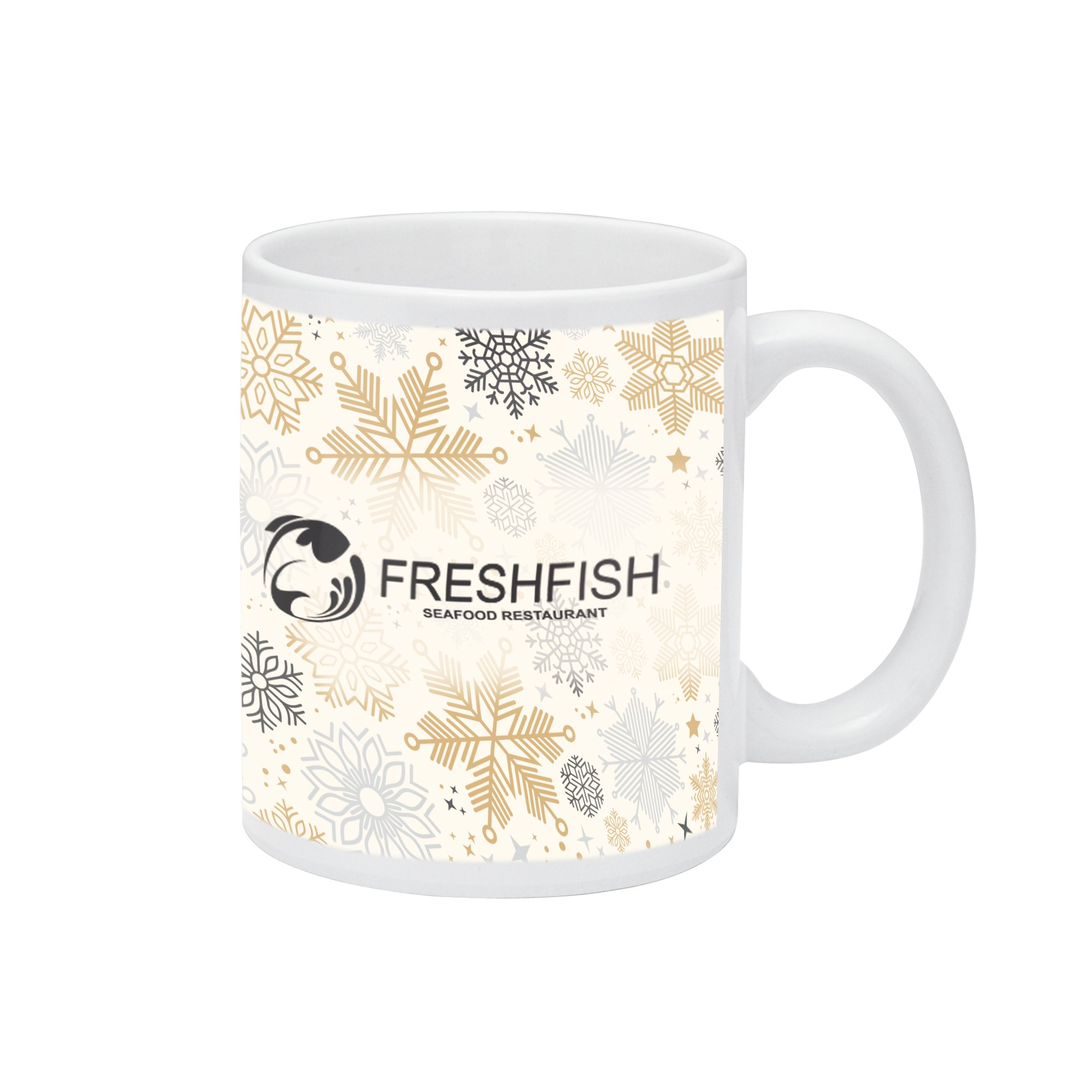 Your customers will never let this colourful mug out of their sight!. Each 11 oz. mug features the dynamic design of your choice and your personalized message and/or logo. It's a business giveaway guaranteed to enhance your name and impress your customers.