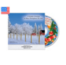 Mini Wall Calendar with Holiday Music CD
