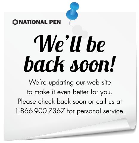 We'll be back soon!
