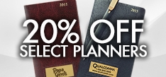 20% Off Personalized Planners