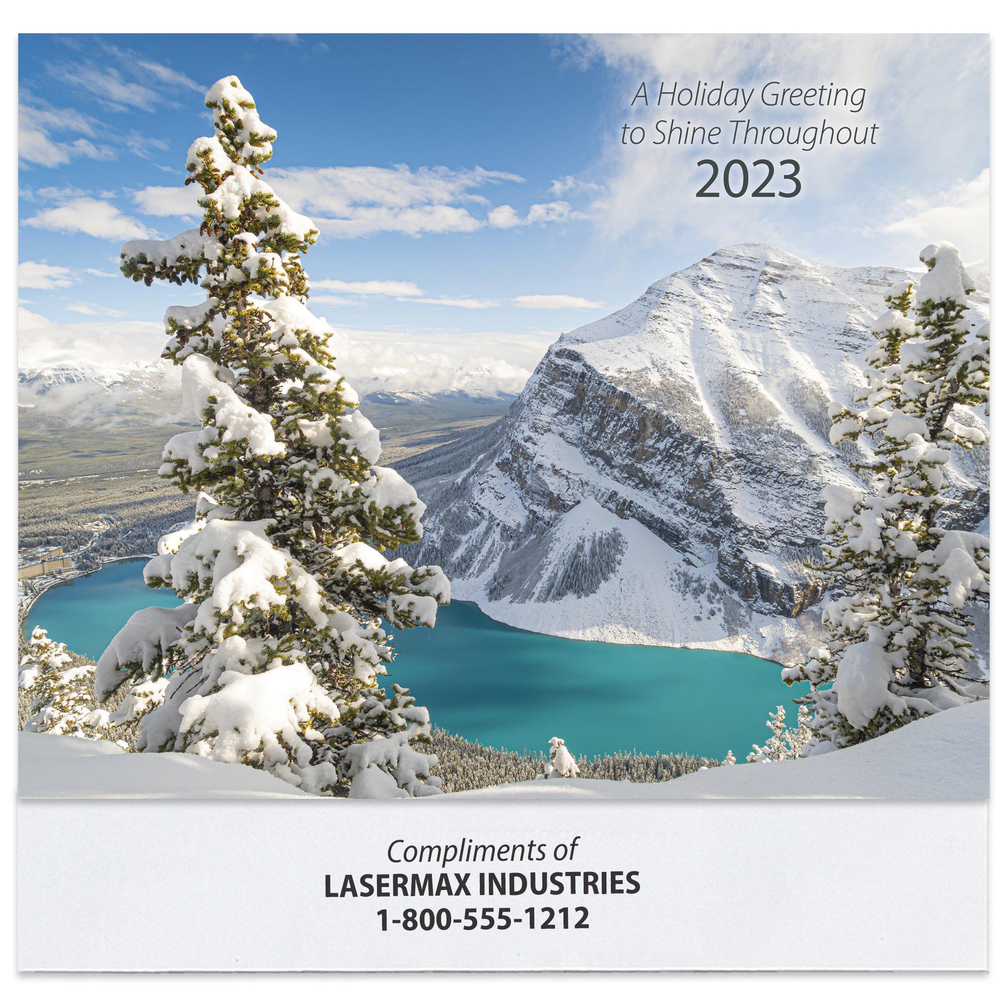 promotional 2018 wall calendar reflections