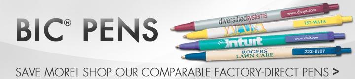 Landing Page - W - BIC Pens - NPC