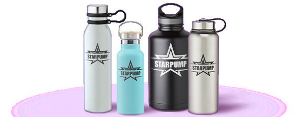 Custom Stainless Steel Water Bottles