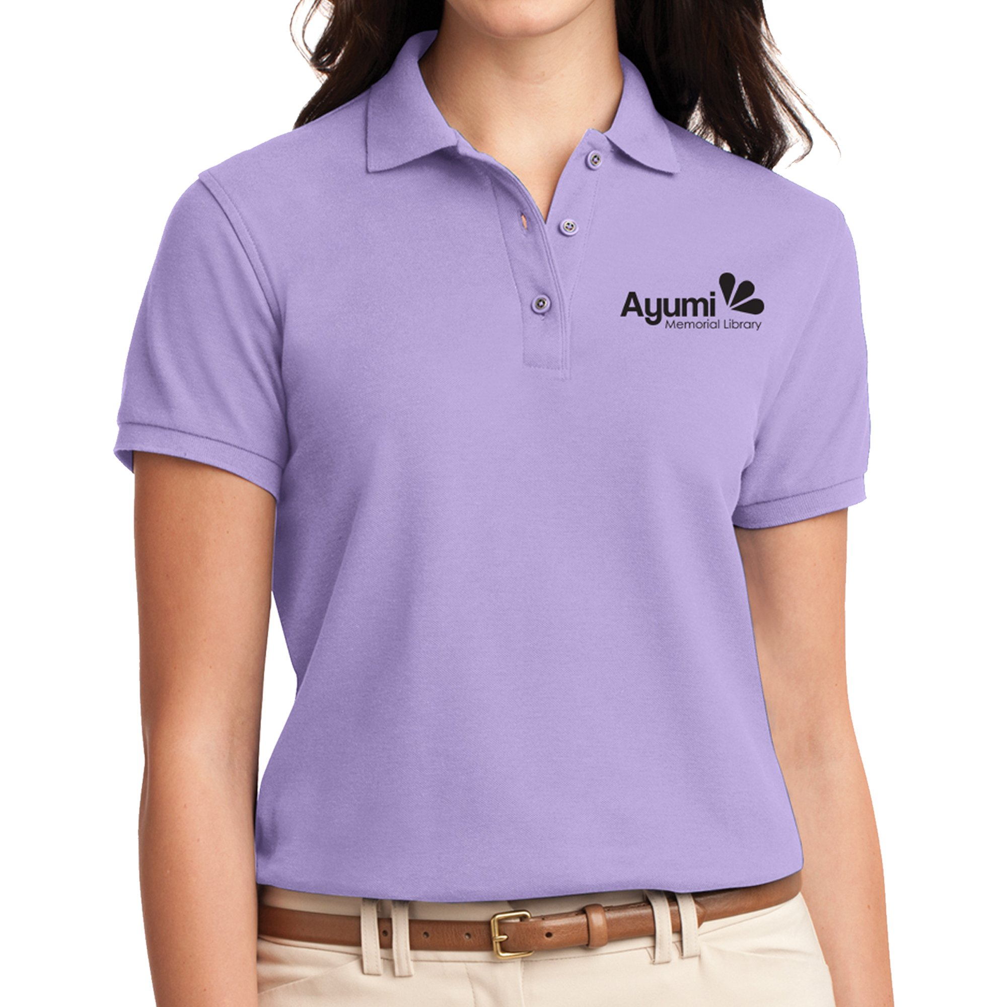 1848914f Promotional Port Authority Ladies' Silk Touch Polo-Cls | National Pen