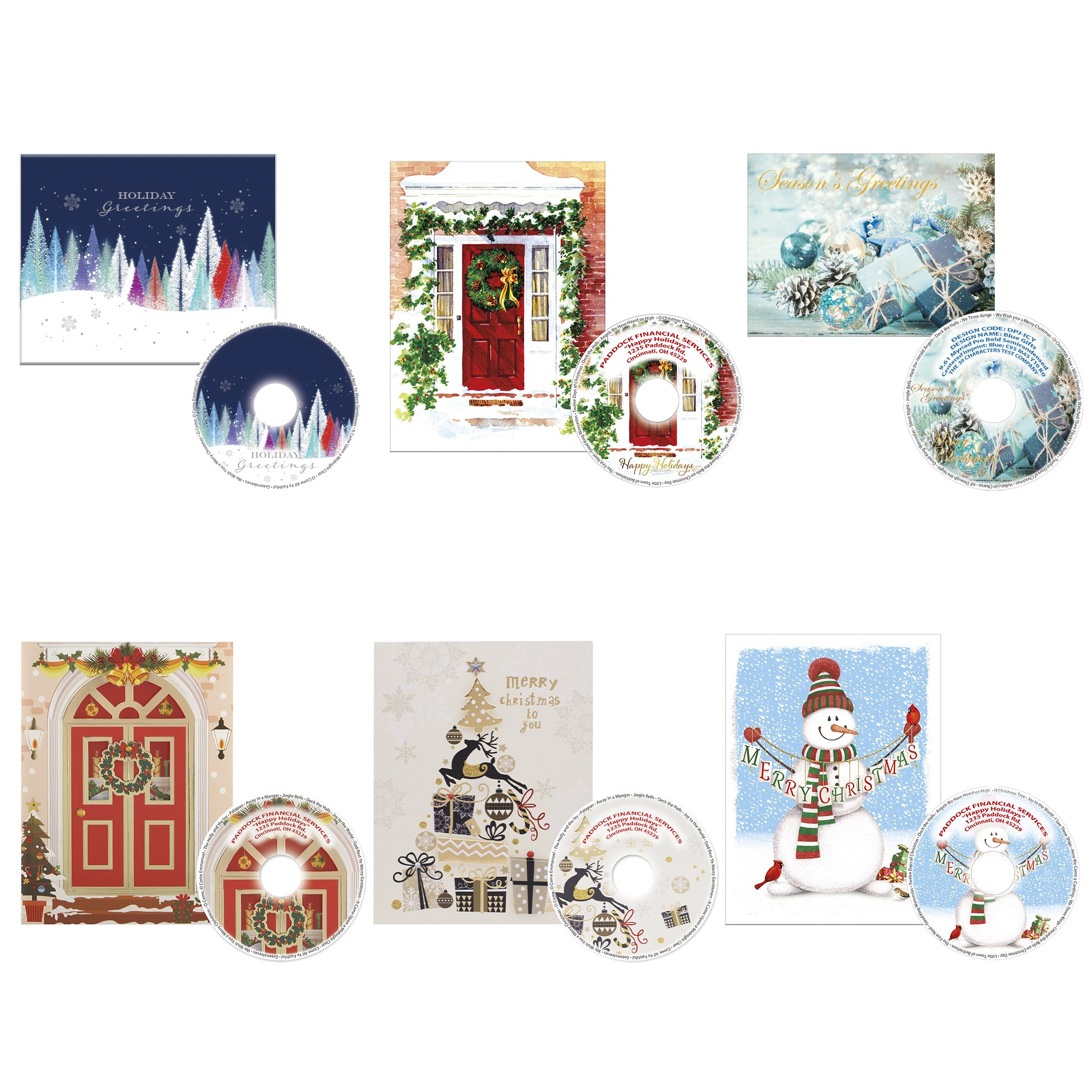 britebrand christmas cards with classic holiday songs cd national pen britebrand christmas cards with classic holiday songs cd national pen