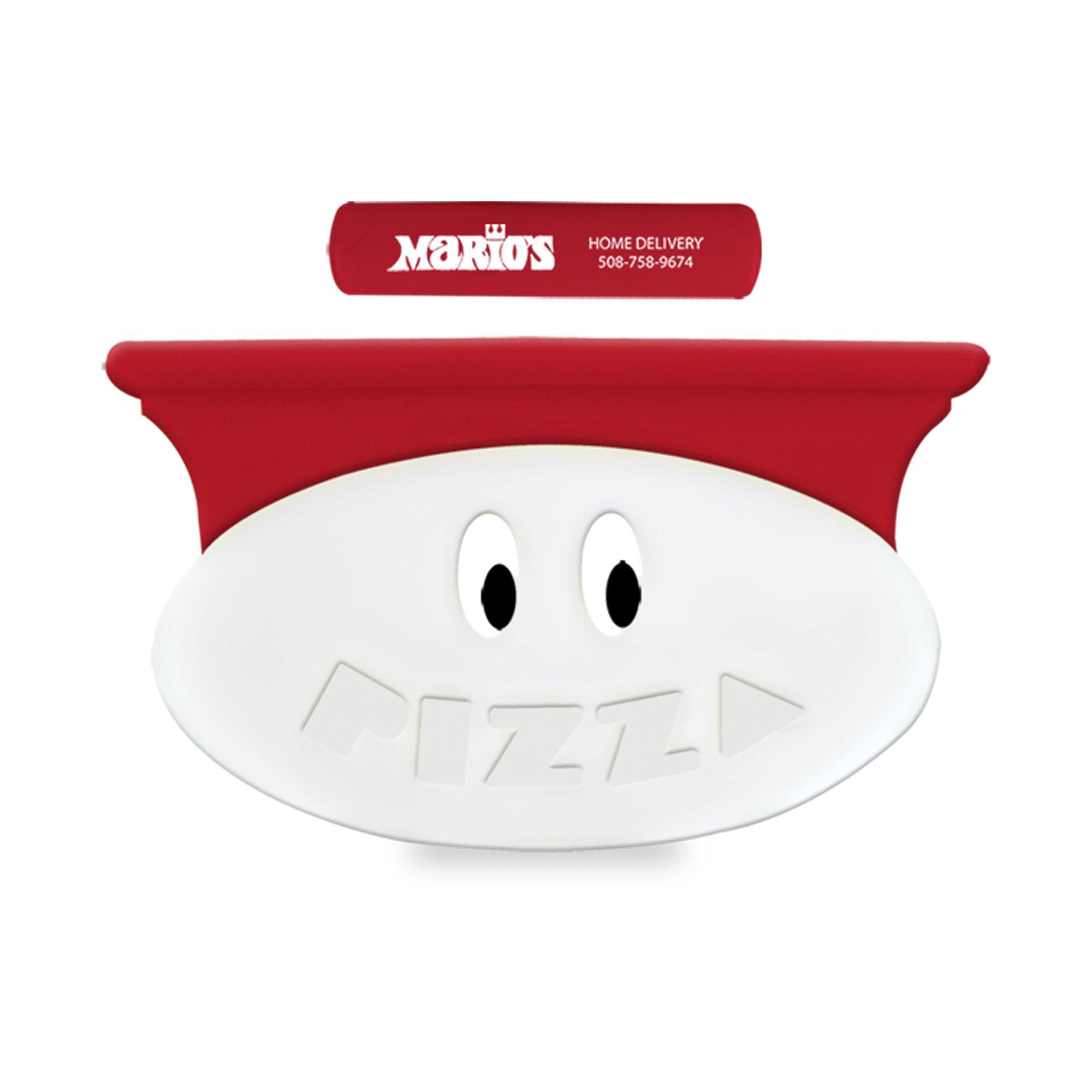 Logo Kuzil Krazy Rolling Plastic Novelty Pizza Cutter National Pen