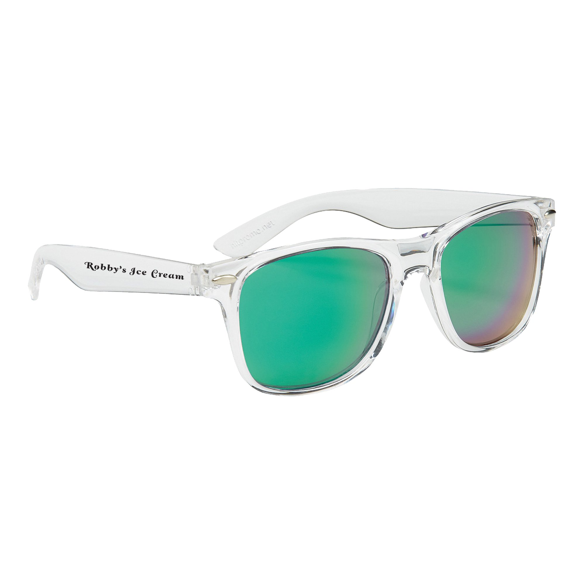 694a3f26a71 Promotional Crystalline Mirrored Malibu Sunglasses