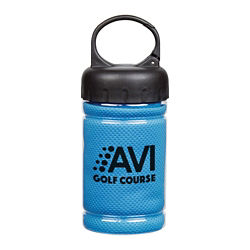 Customized Cooling Towel in Carabiner Case