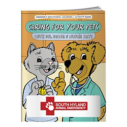 Customized Colouring Book: Caring for Your Pets