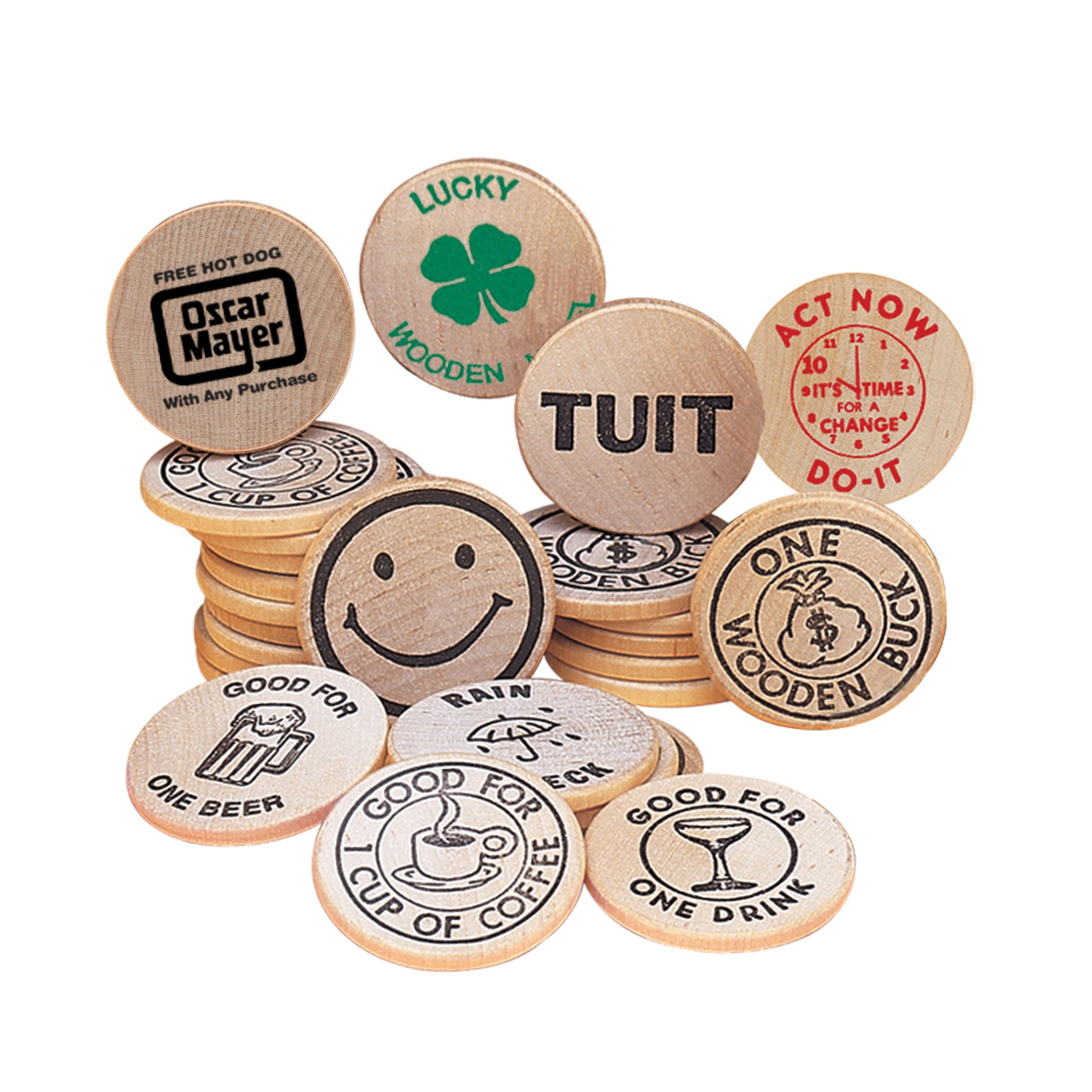 Promotional Wooden Nickels with Custom Imprint | National Pen